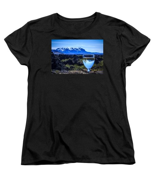 Cheers To Iceland Women's T-Shirt (Standard Cut) by Peta Thames