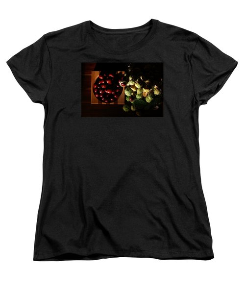 Women's T-Shirt (Standard Cut) featuring the photograph Chestnuts by David Andersen