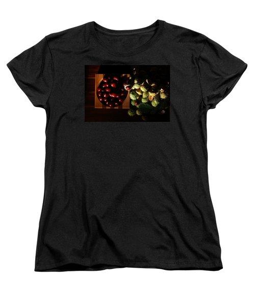 Women's T-Shirt (Standard Cut) featuring the photograph Chestnuts by David Andersen