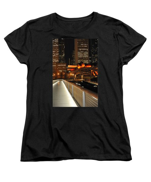 Chicago Millenium Park Women's T-Shirt (Standard Cut) by Steve Archbold
