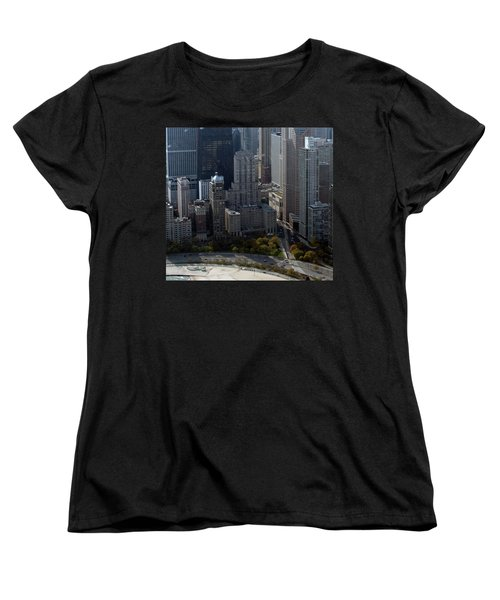 Chicago The Drake Women's T-Shirt (Standard Cut) by Thomas Woolworth