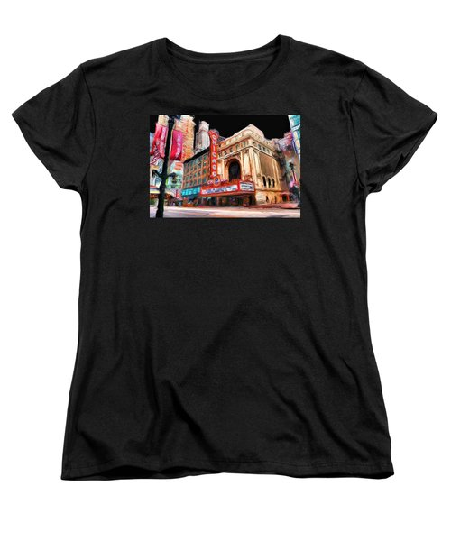 Chicago Theater - 23 Women's T-Shirt (Standard Cut) by Ely Arsha