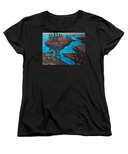 Chickanishing Creek Women's T-Shirt (Standard Cut) by Phil Chadwick