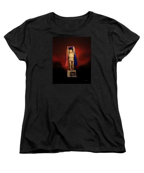 Chief Illiniwek University Of Illinois 06 Women's T-Shirt (Standard Cut) by Thomas Woolworth