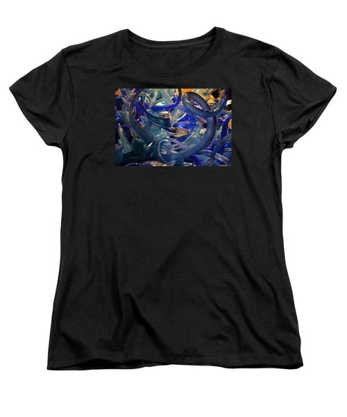 Chihuly-2 Women's T-Shirt (Standard Cut) by Dean Ferreira