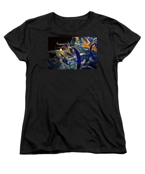 Chihuly-3 Women's T-Shirt (Standard Cut) by Dean Ferreira