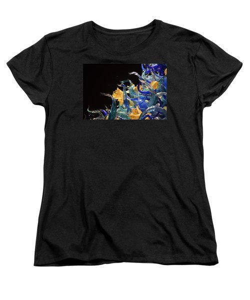Chihuly-4 Women's T-Shirt (Standard Cut) by Dean Ferreira