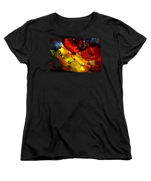 Chihuly-5 Women's T-Shirt (Standard Cut) by Dean Ferreira