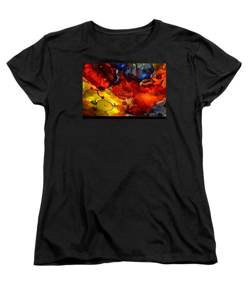 Chihuly-6 Women's T-Shirt (Standard Cut) by Dean Ferreira