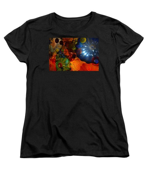 Chihuly-9 Women's T-Shirt (Standard Cut) by Dean Ferreira