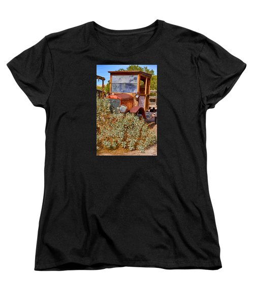 China Ranch Truck Women's T-Shirt (Standard Cut) by Jerry Fornarotto