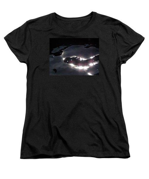 Women's T-Shirt (Standard Cut) featuring the photograph  Water Dragon by Deborah Moen