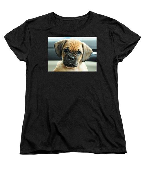 Chooch Women's T-Shirt (Standard Cut) by Lisa Phillips