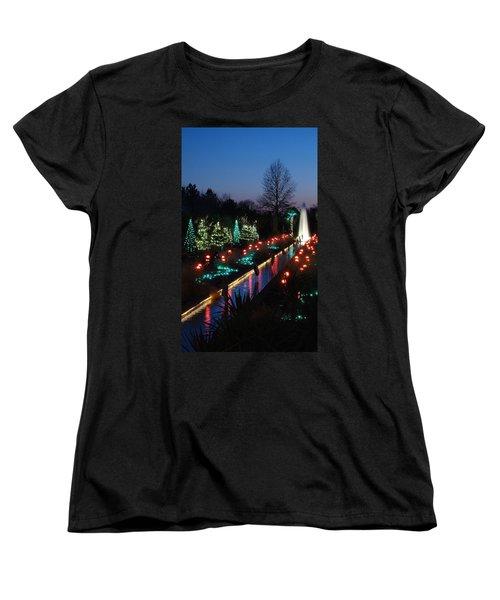 Christmas Reflections Women's T-Shirt (Standard Cut)