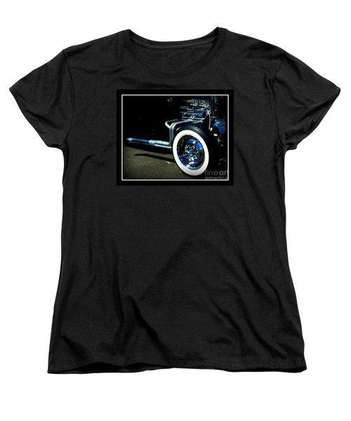 Women's T-Shirt (Standard Cut) featuring the photograph Chrome  by Bobbee Rickard