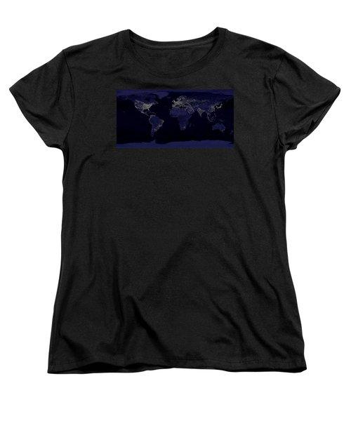 City Lights Women's T-Shirt (Standard Cut)