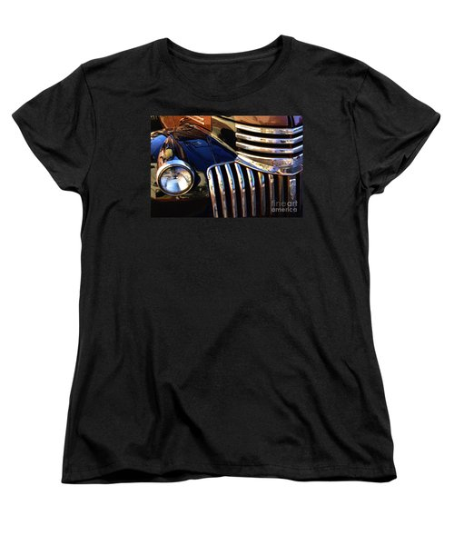 Women's T-Shirt (Standard Cut) featuring the photograph Classic Chevy Two by John S
