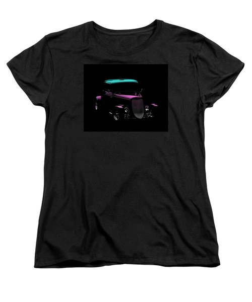 Vintage Car Women's T-Shirt (Standard Cut) featuring the photograph Classic Minimalist by Aaron Berg