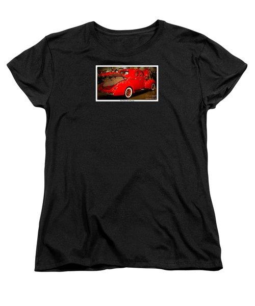 Classically Orange Women's T-Shirt (Standard Cut) by Bobbee Rickard