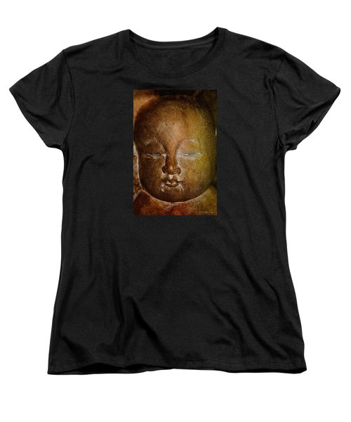 Women's T-Shirt (Standard Cut) featuring the photograph Clayface by WB Johnston