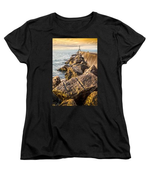 Clear Journey Women's T-Shirt (Standard Cut) by James  Meyer