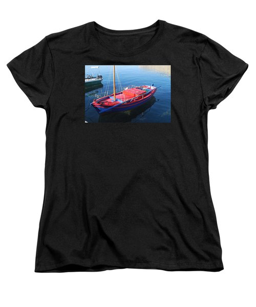 Women's T-Shirt (Standard Cut) featuring the photograph Clear Waters by George Katechis