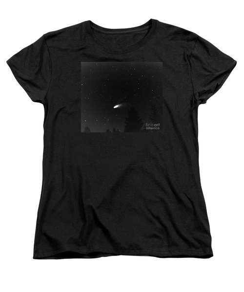 Women's T-Shirt (Standard Cut) featuring the photograph Close Encounter 2 by Nick  Boren