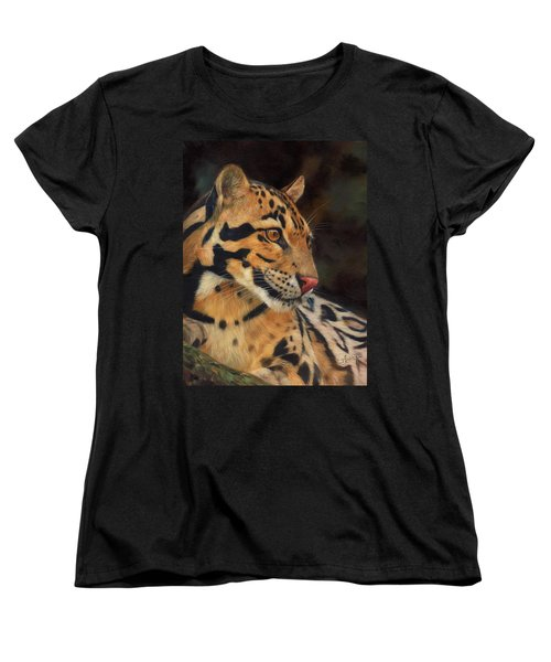 Clouded Leopard Women's T-Shirt (Standard Cut)