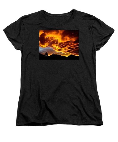 Clouds 2 Women's T-Shirt (Standard Cut) by Pamela Cooper