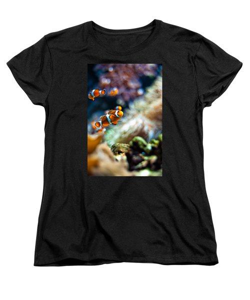 Clownfish  Women's T-Shirt (Standard Cut) by Ulrich Schade