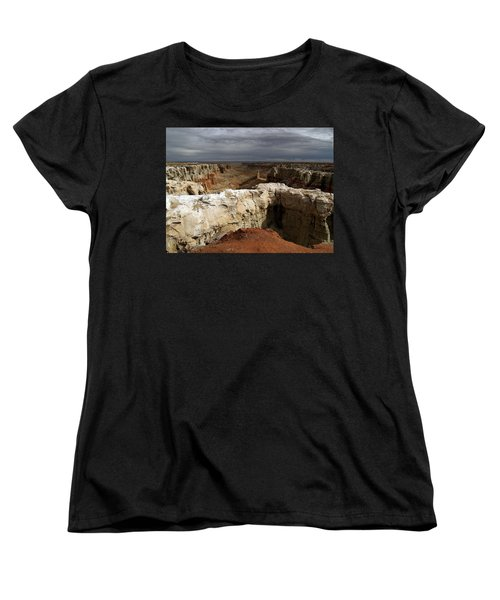 Coal Mine Mesa 08 Women's T-Shirt (Standard Cut) by Jeff Brunton
