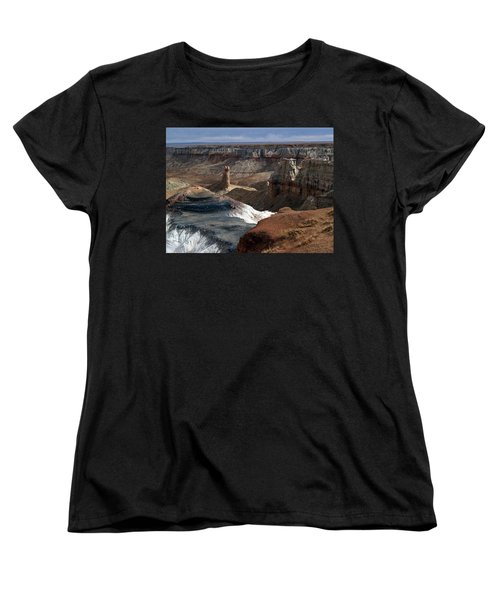 Coal Mine Mesa 09 Women's T-Shirt (Standard Cut) by Jeff Brunton