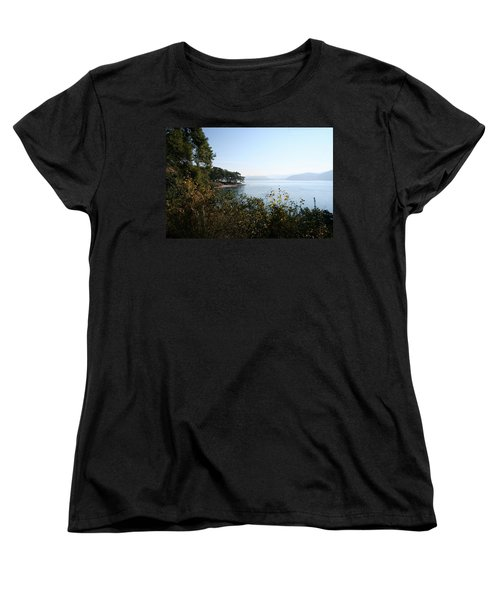 Women's T-Shirt (Standard Cut) featuring the photograph Coast by Tracey Harrington-Simpson