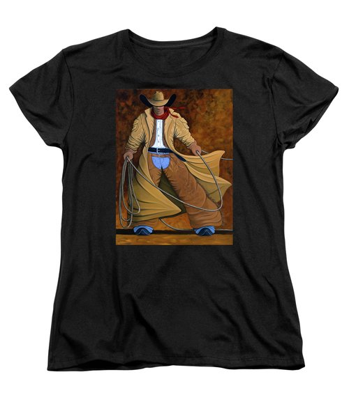 Cody Women's T-Shirt (Standard Cut) by Lance Headlee