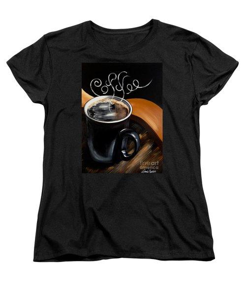 Coffee Break Women's T-Shirt (Standard Cut) by Dani Abbott