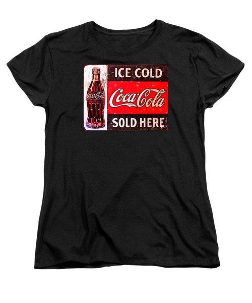 Coke Women's T-Shirt (Standard Cut) by Reid Callaway
