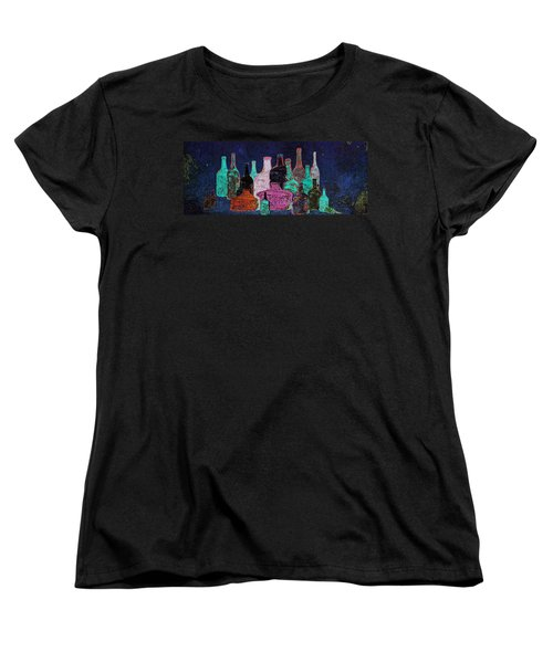 Women's T-Shirt (Standard Cut) featuring the digital art Collecting by I'ina Van Lawick