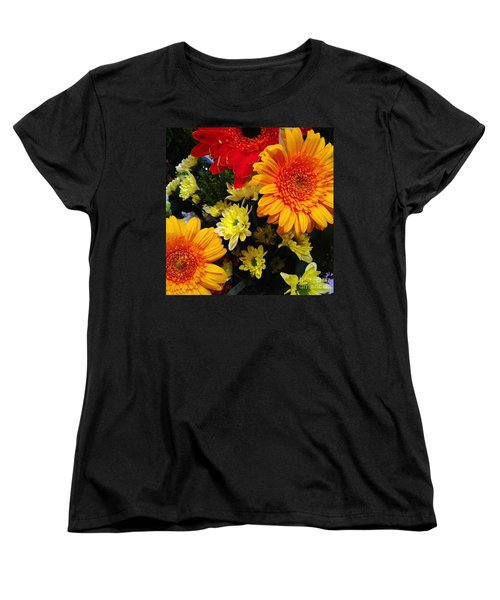 Color Me Bright Women's T-Shirt (Standard Cut) by Meghan at FireBonnet Art