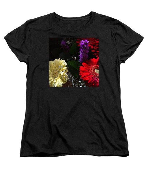 Color Me Dark Women's T-Shirt (Standard Cut) by Meghan at FireBonnet Art