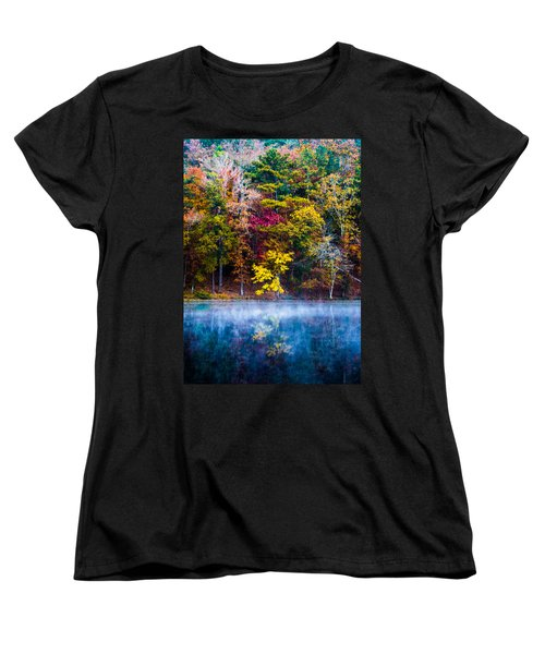 Colors In Early Morning Fog Women's T-Shirt (Standard Cut) by Parker Cunningham