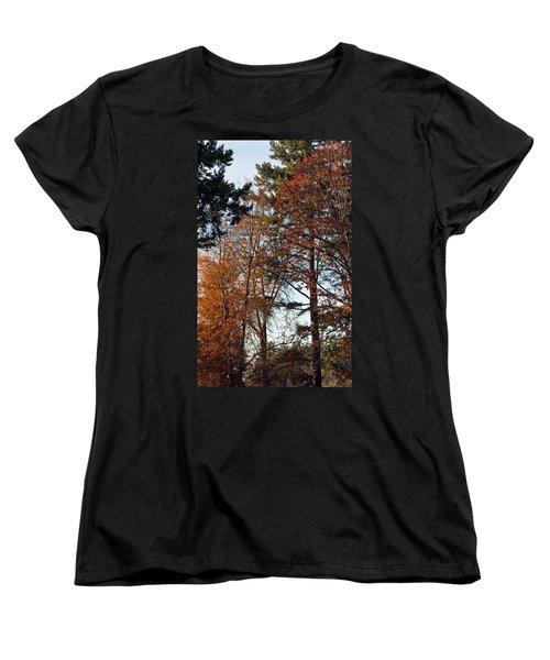 Colors Of Autumn Women's T-Shirt (Standard Cut) by Tikvah's Hope
