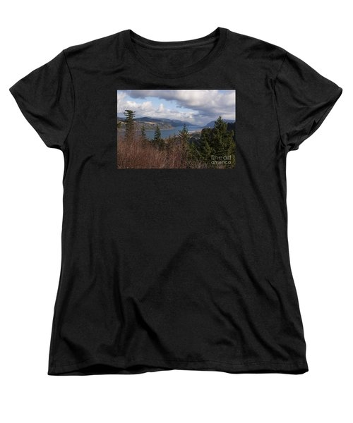 Columbia Gorge Women's T-Shirt (Standard Cut) by Belinda Greb