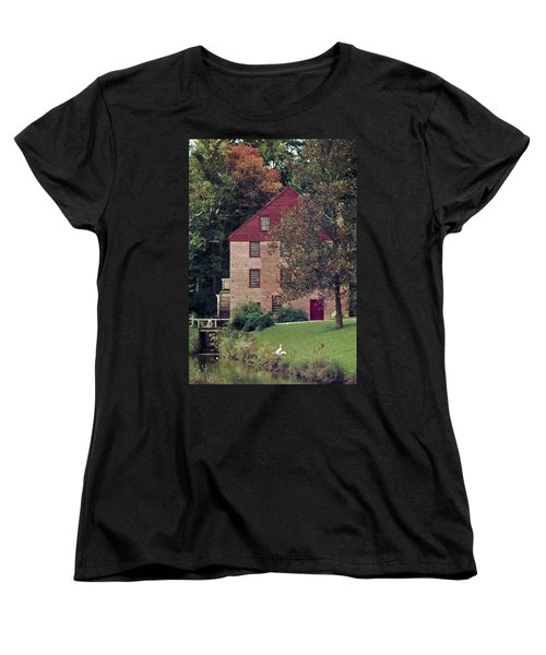 Colvin Run Mill Women's T-Shirt (Standard Cut) by Greg Reed