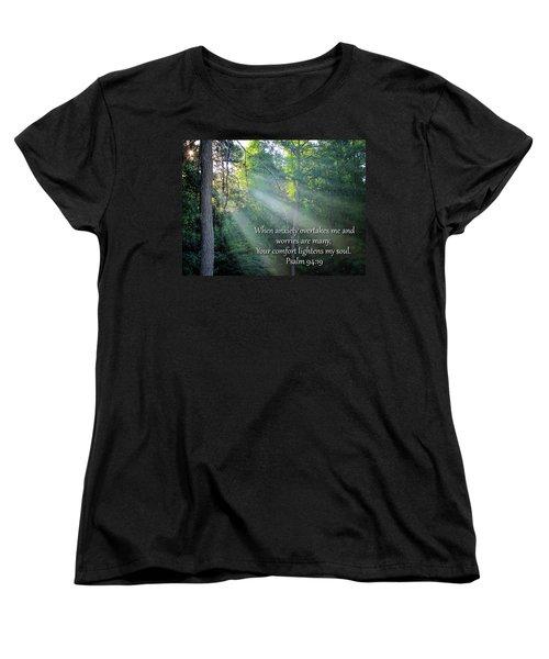 Women's T-Shirt (Standard Cut) featuring the photograph Comfort by Greg Simmons