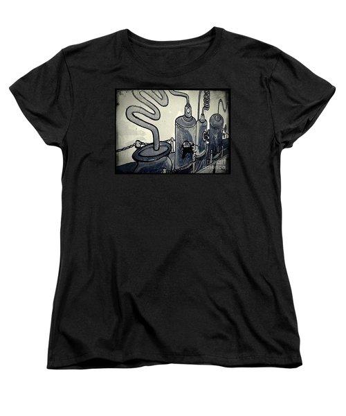 Commercial Wall Women's T-Shirt (Standard Cut) by Fei A