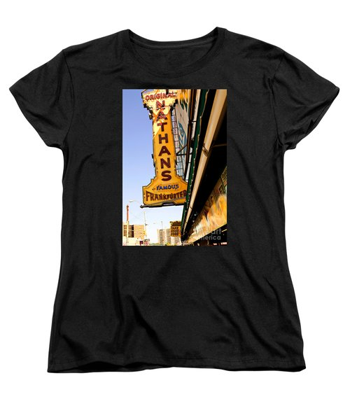 Coney Island Memories 1 Women's T-Shirt (Standard Cut) by Madeline Ellis