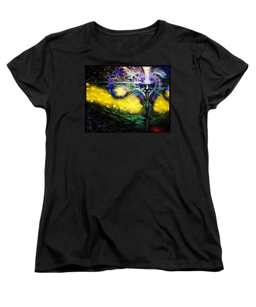 Contemplating The Majestic   Women's T-Shirt (Standard Cut) by Tony Koehl