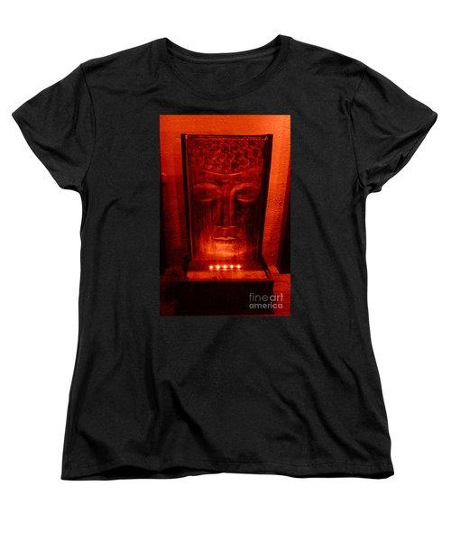 Women's T-Shirt (Standard Cut) featuring the photograph Contemplation by Linda Prewer