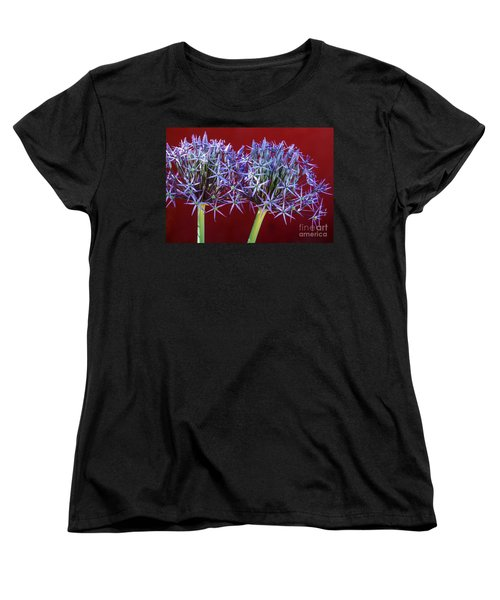 Women's T-Shirt (Standard Cut) featuring the photograph Flowering Onions by Roselynne Broussard