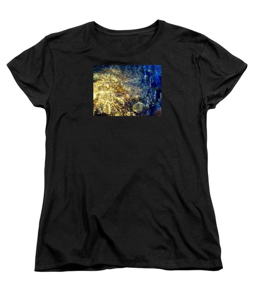Cool Waters...of The Rifle River Women's T-Shirt (Standard Cut) by Daniel Thompson
